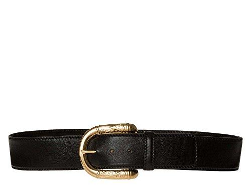 ESCADA Donne Cintura di pelle nero 42