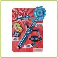 Hog Wild Ninja Disk Launcher Toy - 1