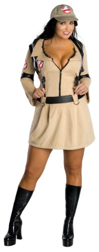 Ghostbusters Secret Wishes Costume Dress, Tan, Plus