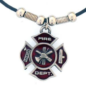 Firefighter Necklace on Amazon Com  Firefighter Earth Spirit Necklace  Everything Else