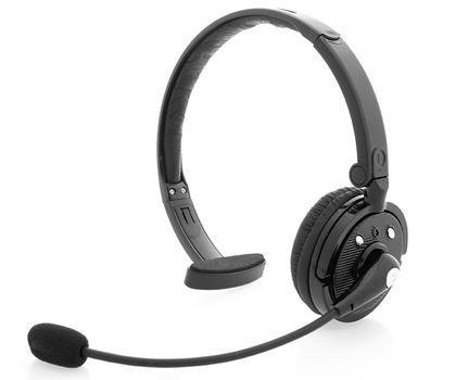 Zelher P20 Over the Head Bluetooth Wireless Headset for Cellphones 21 Hour Talk Time & 4x Noise Cancelling 1 Year Warranty