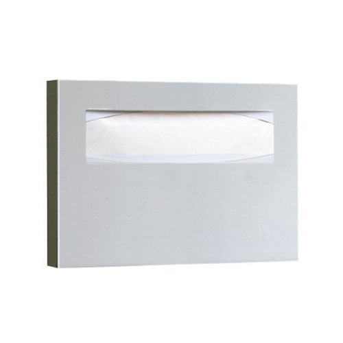 New Bobrick B-221 Classic Series Surface-Mounted Seat-Cover Dispenser, Satin