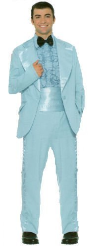 Flirtin' with the 50s Prom King Costume Tuxedo in PLUS Size