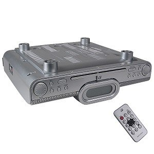 Amazon Com Gpx Kc318s Under Cabinet Cd Player With Am Fm