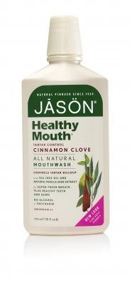 JASON Natural Healthy Mouth Naturally Bacteria-Fighting Mouthwash 16.0 oz