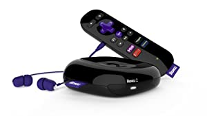 Roku 2 Streaming Player (Roku 2720R) with Headphone Jack
