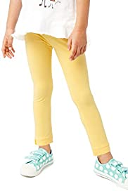 Cotton Rich Button Leggings