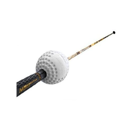 Momentus Ladies Speed Whoosh Golf Swing Trainer with Training Grip, Left Hand