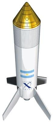 X Prize Gauchito Rocket