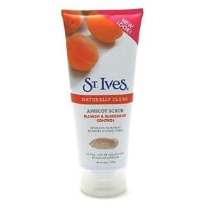 St Ives Apricot Scrub Blemish & Blackhead Control 6 oz.