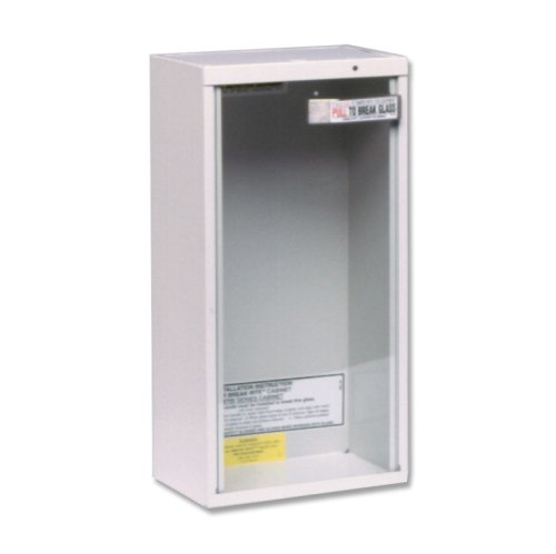 Kidde fire extinguisher cabinet
