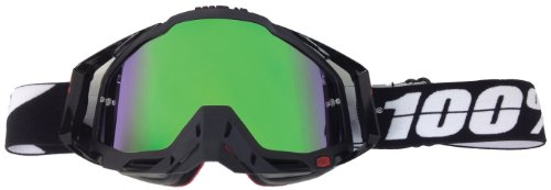 Goggle-Shop Chrome Mirror Lens to fit 100% Percent Motocross MX Goggles Racecraft Accuri Strata (Monster Green Mirror)