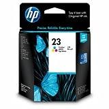 HP C1823D - 23 - Yellow, cyan, magenta - original - ink cartridge - for Deskjet 81X, Officejet R40, R45, R60, R65, R80, T45, T65, Officejet Pro 11XX, psc 500