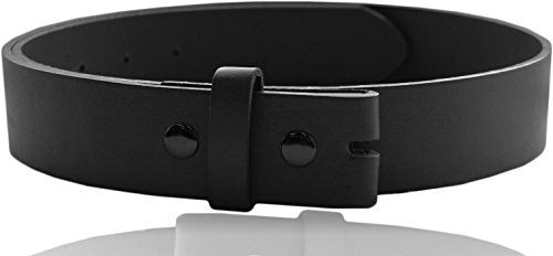 Eurosport Premium Thick Wide Leather Belt Strap - MAP01C - Black Small (Belt Strap compare prices)