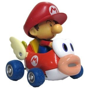 Nintendo mario kart wii 3 pull back action cheep charger for Coupe miroir mario kart wii