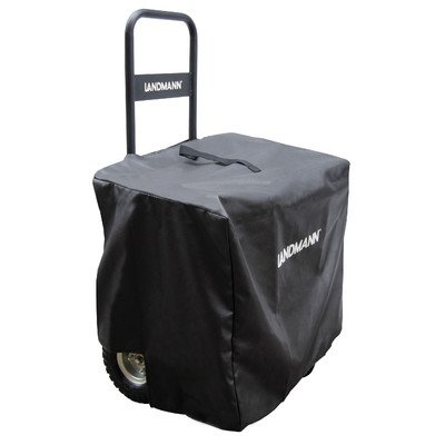 Landmann Usa 82427 Log Caddy With Cover, Black front-90110