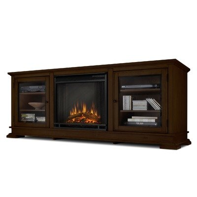 Hudson Electric Fireplace In Espresso