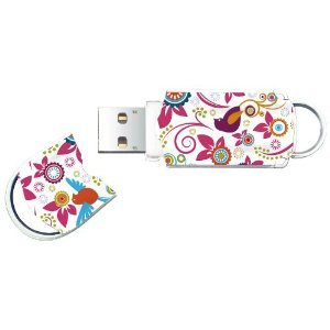 16gb Birds Xpression Pattern Usb Flash Disk Drive Memory Stick by justrams