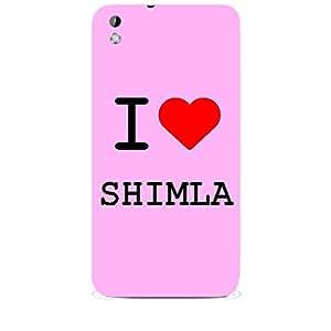 Skin4gadgets I love Shimla Colour - Light Pink Phone Skin for HTC DESIRE 816 W
