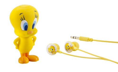 Emtec Electronics Looney Tunes USB 8GB MP3 Player, Tweety (EKMP38GM700US)