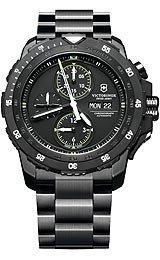 Victorinox-Swiss-Army-Alpnach-Automatic-Chronograph-Black-Dial-PVD-Bracelet