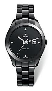 Rado Hyperchrome Automatic Diamond Black Ceramic Ladies Watch R32260702