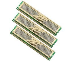 OCZ OCZ3G1600LV6GK DDR3 PC3-12800 1600 MHz Gold XTC 6GB Triple Channel Kits