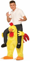 Chicken Fight Adult Costume One-Size PROD-ID : 1919986 (Chicken Fight Adult Costume)