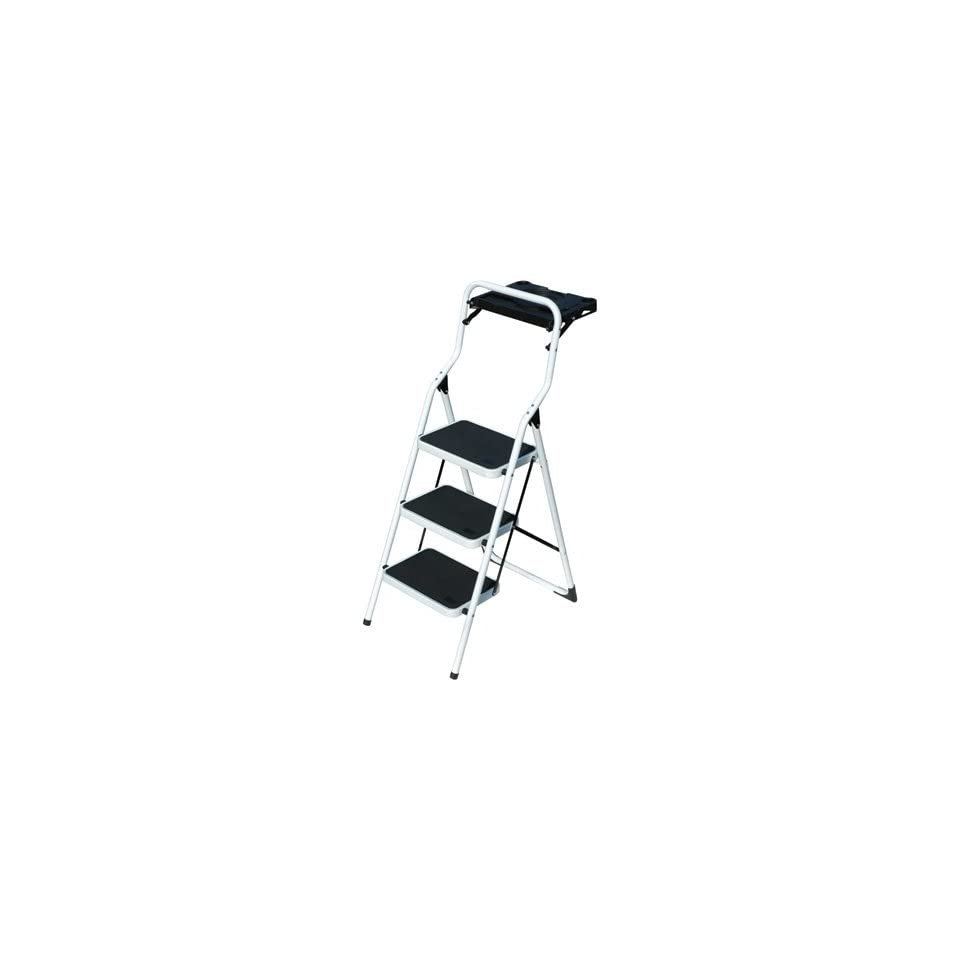 Fine Lite Step Stool With Folding Tray 36In H 225 Lb Capacity Pdpeps Interior Chair Design Pdpepsorg
