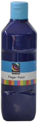 Omega Finger Paint, 500ml, Blue - 1