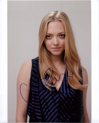 Signed+Seyfried%2C+Amanda+8x10+Photo