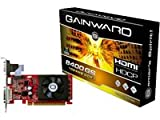 Gainward  NVIDIA GeForce 8400GS Grafikkarte (PCI-e, 1GB GDDR3 Speicher, HDMI, DVI, 1 GPU)
