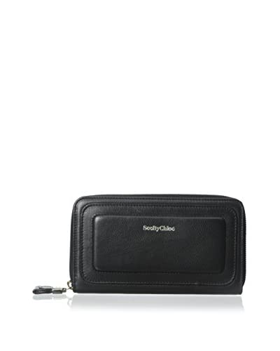 See by Chloé Women's Leather Wallet, Black