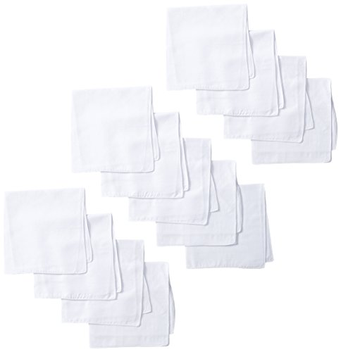 dockers-mens-13-piece-permanent-press-hankies-white-one-size