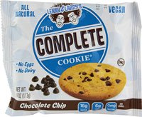Lenny & Larry's The Vegan Complete Cookie Chocolate Chip -- 12 Cookies