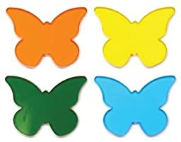 Butterfly Fusible Pre-Cut Assortment 4 Pack - 90 Coe