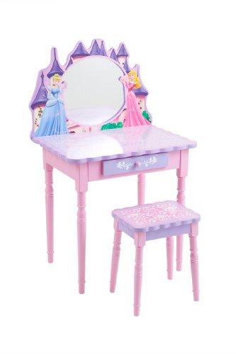 Disney Princess Cinderella Vanity And Stool Set 2007 09