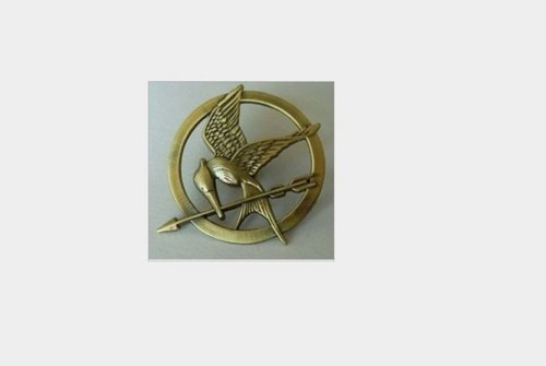 The Hunger Games Movie Bronze Mockingjay Pin