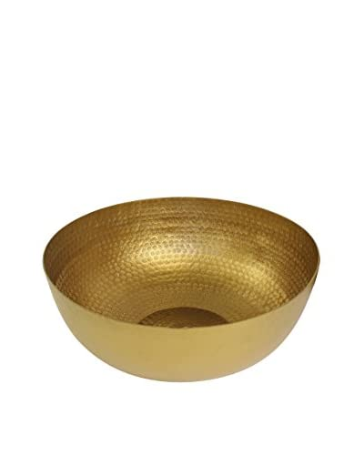 Pampa Bay Elegant Brass Large Centerpiece, Brass