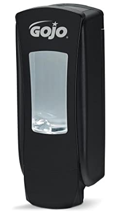 GOJO 8886-06 ADX-12 Black Slim Dispenser with High Capacity, 1250mL Capacity