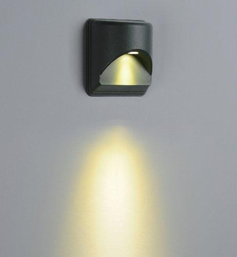 Goledgo 24Pack Led Decorative Wall Light, 1X1W, Outdoor Light Waterproof Ip65, Led Single Color, Ac90-260V, Matt Black Finish As Standard. It Is For Wall Decor Of Building Light, Villa Light, Park Light, Garden Light, Hotel Light, Ktv Light; (Price+Free S