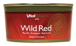 Wild Red Salmon Skinless & Boneless 6.3 oz Can