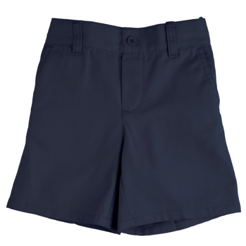 French Toast School Uniforms Pull-On Boys Short Boys Navy 4T front-327556