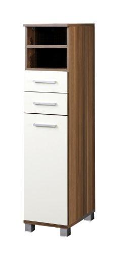 Held Möbel 060.3105 Placard avec 1 portes et 2 tiroirs 30 x 119 x 35 cm