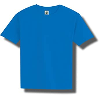 Bright neon youth short sleeve t shirt in 6 for Neon coloured t shirts