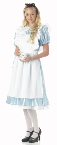 Classic Alice in Wonderland Costume - Small - Dress Size 6-8