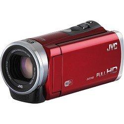Jvc Gzex310Rusm 2.5 Megapixel 1080P Hd Wi-Fi Everio(R) Gzex310Bus Digital Video Camera (Red)