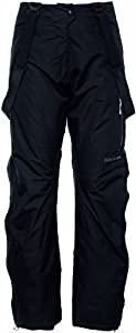 Didriksons Women's Terre Trouser - Black, 42 Inch