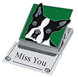 Clip Magnet - Boston Terrier