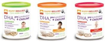 Happy-Bellies-Organic-Baby-Cereals-with-DHA-Pre-Probiotics-7-Ounce-Canisters-Pack-of-6